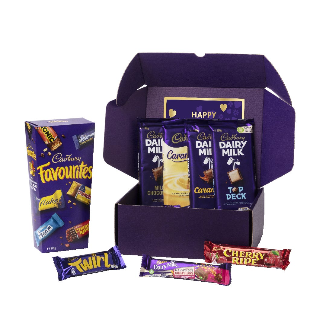 Cadbury Favourites Chocablock Hamper