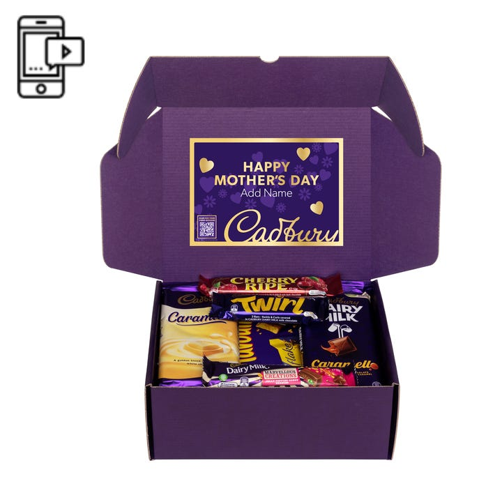 Cadbury Favourites Chocablock Hamper with optional Video Message