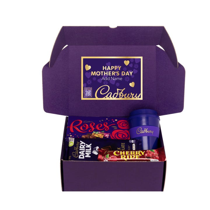 Cadbury Roses Gift Pack with Optional Video Message