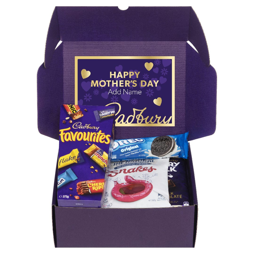 Cadbury Online Snack Box  with Optional Video Message