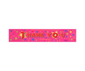 "TOBLERONE Swiss Milk Chocolate Bar 360g ""Thank You"""